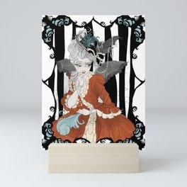 Madame Batshit Mini Art Print
