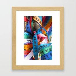 Nosso Senhor do Bonfim Bracelets - Salvador, Brazil Framed Art Print