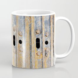 Rusty excavator caterpillar Coffee Mug