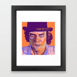 Alex DeLarge Framed Art Print