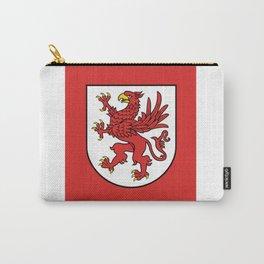flag of zachodniopomorskie or west pomerania Carry-All Pouch