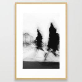 - Senza Frontiere - Framed Art Print