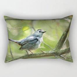 Forest Bird Rectangular Pillow