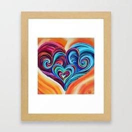 Intertwined Souls Framed Art Print
