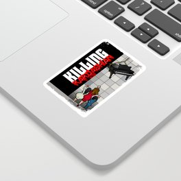 Killing Kardashian Book Back Cove Sticker