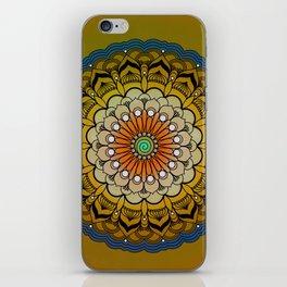 Round Colorful Design iPhone Skin