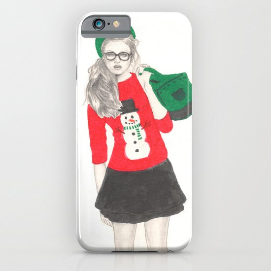 Christmas Fashion iPhone & iPod Case