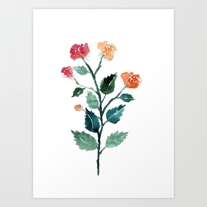 floral #2 Art Print
