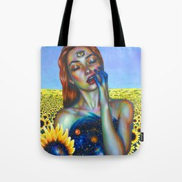 Outer and inner suns Tote Bag