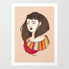 Eun-Mi Art Print