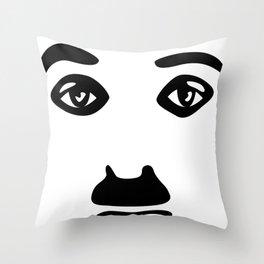 Silent Stars - Charlie Chaplin Throw Pillow