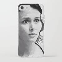 melissa smith iPhone & iPod Cases featuring melissa ponzio by Finduilas