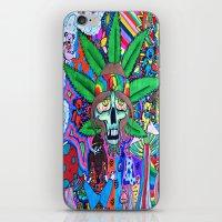 hippie iPhone & iPod Skins featuring Hippie by Allie_gator