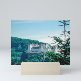 Fortress in the Alps (Austria)  Mini Art Print