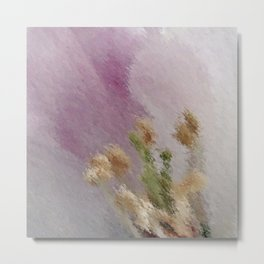 Flower Blossom Impression Metal Print