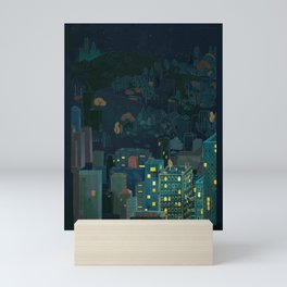 Losing The Forest Mini Art Print