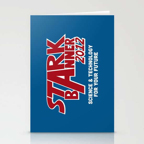 Stark Banner 2012 Stationery Cards