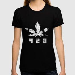420 Marihuana W T-shirt