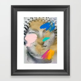 Composition 514 Framed Art Print