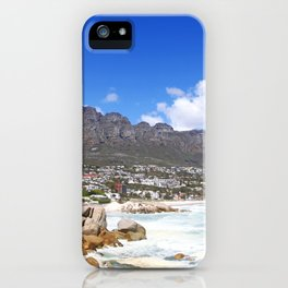 Lovely Cape Town, South Africa iPhone Case