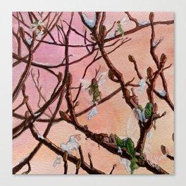Springtime Fairies Canvas Print