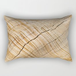 Weathered Wood Grain Rectangular Pillow