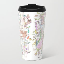 rabbits & candy Travel Mug