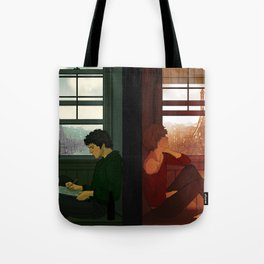 Enjolras & Grantaire Tote Bag