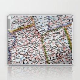 Midwest Map USA Laptop & iPad Skin