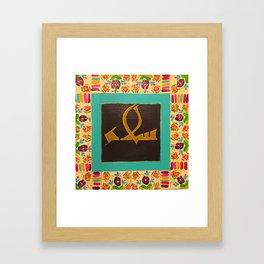 Salam/Peace Framed Art Print