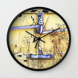 Contain Yourself Wall Clock