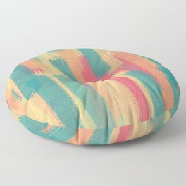 Colorful Explotion Floor Pillow