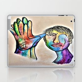 American Sign Language Grandfather Laptop & iPad Skin