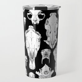 Skull Grid Travel Mug