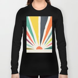 Rainbow ray Long Sleeve T-shirt