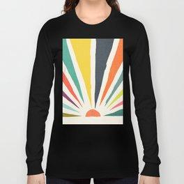 Rainbow ray Long Sleeve T-shirt
