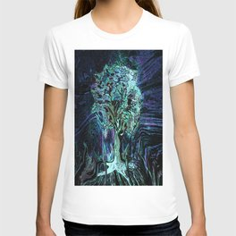 Starry Night Tree of Life T-shirt