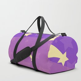 Starry sunset seen by cats Duffle Bag