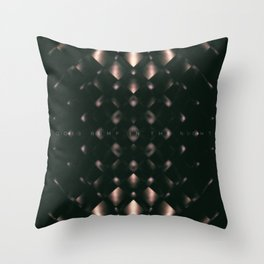 Goes Bump In The Night Throw Pillow