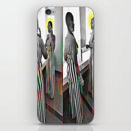 CareFreeBlackWoman iPhone Skin