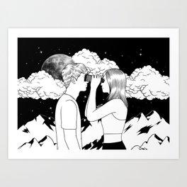 Exploring you Art Print