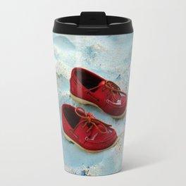 Red Boat Shoes Travel Mug