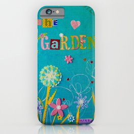Laughter In The Garden iPhone Case