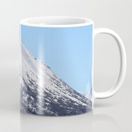 Blue Sky and Snowy Mountain Top Coffee Mug