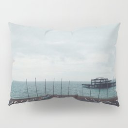 Brighton Old Pier Pillow Sham
