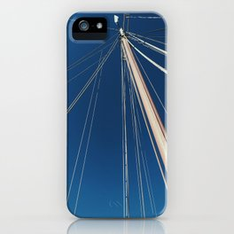 Bare Sailboat iPhone Case
