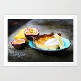 Lemon pie Art Print