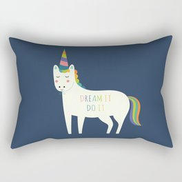 Dream It Do It Rectangular Pillow