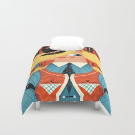 Ride, with love Duvet Cover