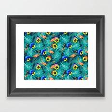 Summer tropical I Framed Art Print